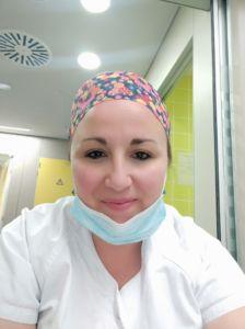Mónica Enfermera UCI y urgencias